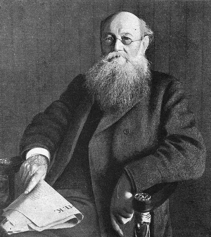Кропоткин Петр Алексеевич. 1917