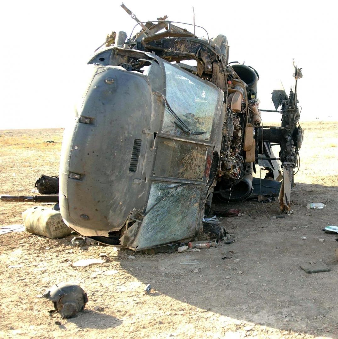 Крушение вертолёта