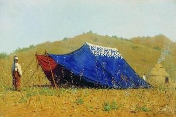 В. В. Верещагин. Китайская палатка. 1870 г