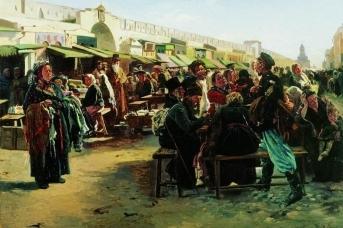 Владимир Маковский. В полдень. 1879