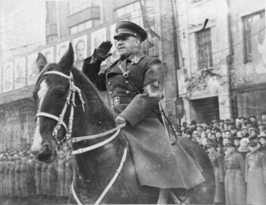 Генерал армии Г. К. Жуков