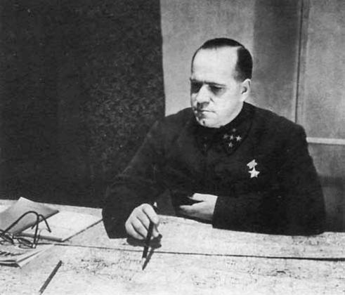 Жуков в октябре 1941 года. Фото из газеты «Красная звезда», опубликовано по личному указанию Сталина