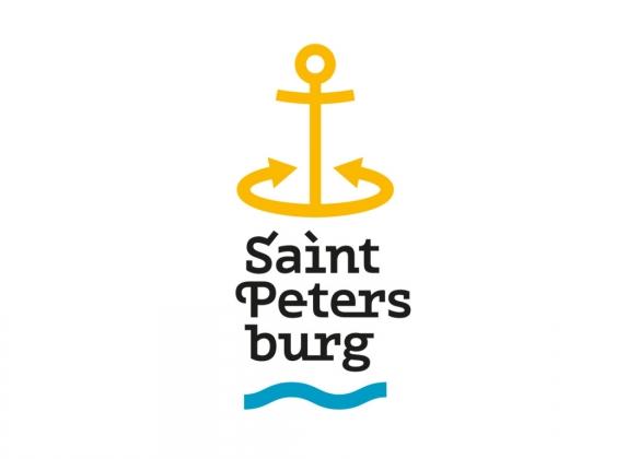 Туристический логотип Петербурга