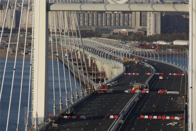 Вантовый мост через Корабельный фарватер