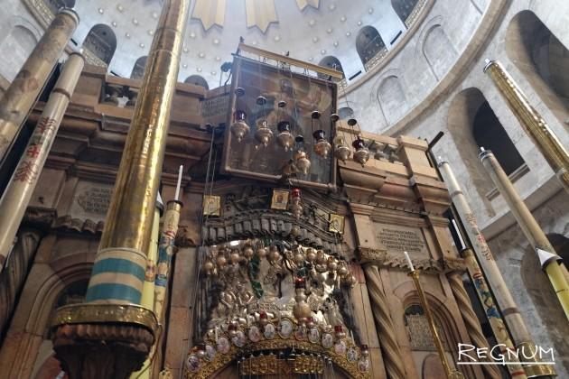 Археолог: Подлинность гробницы Христа в Иерусалиме подтверждена
