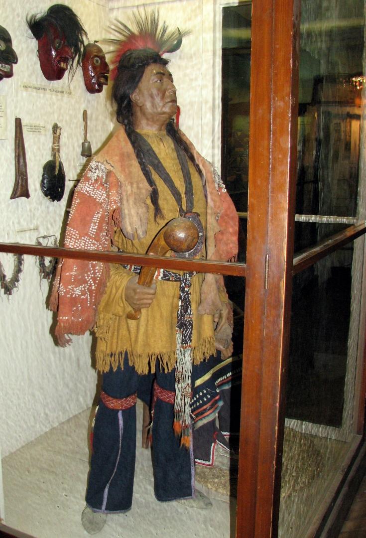 Вождь племени ирокезов
