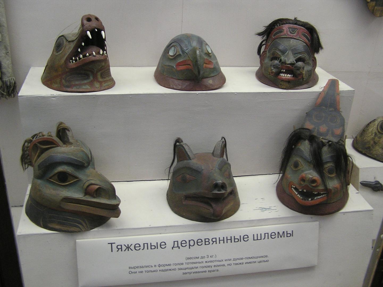 Деревянные шлемы