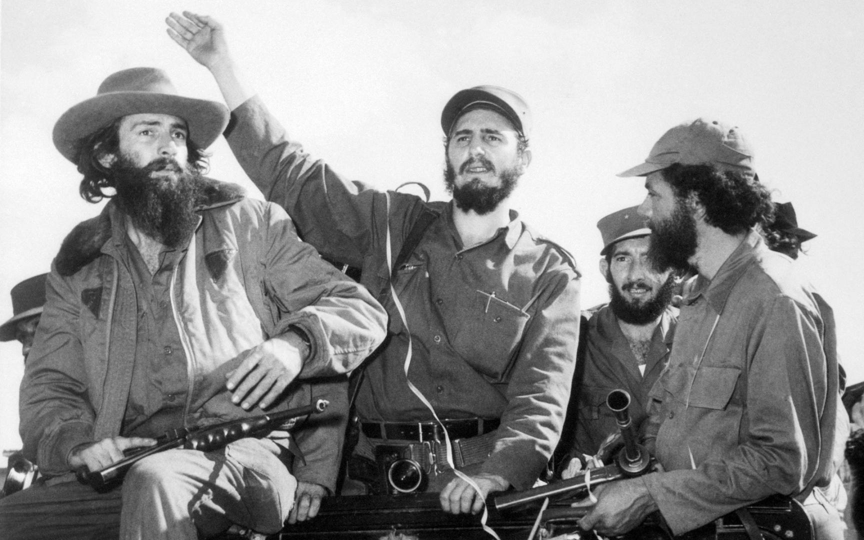 Фидель Кастро объявляет победу революции