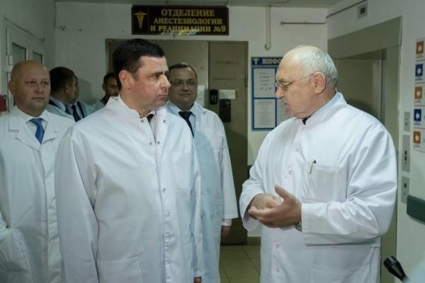 Дмитрий Миронов в больнице им. Соловьева