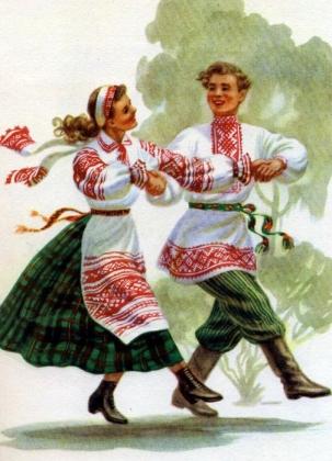 Беллорусский народный костюм