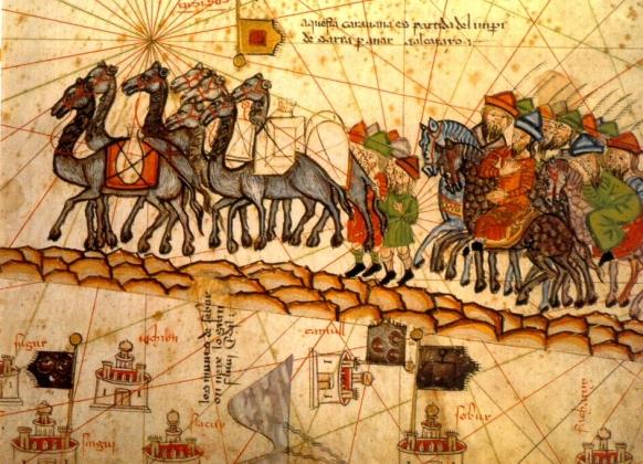 Абрахам Креск. Шёлковый путь. 1375