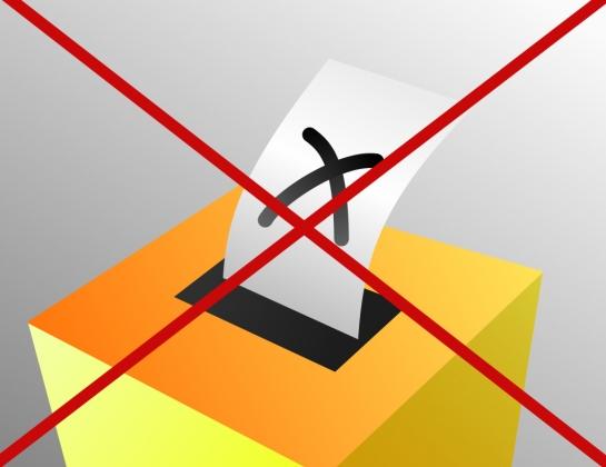 Срыв выборов