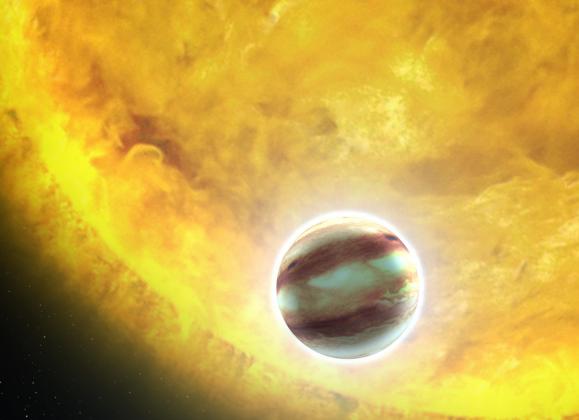 Астрономы нашли планету с осадками из рубинов и сапфиров