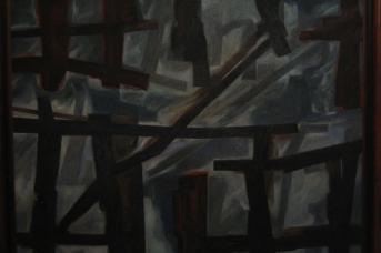Андрей Колеров. Забор. Закат. 2003