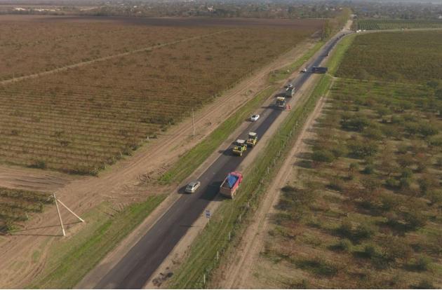 Строители Керченского моста восстановили 30 км дорог на Тамани