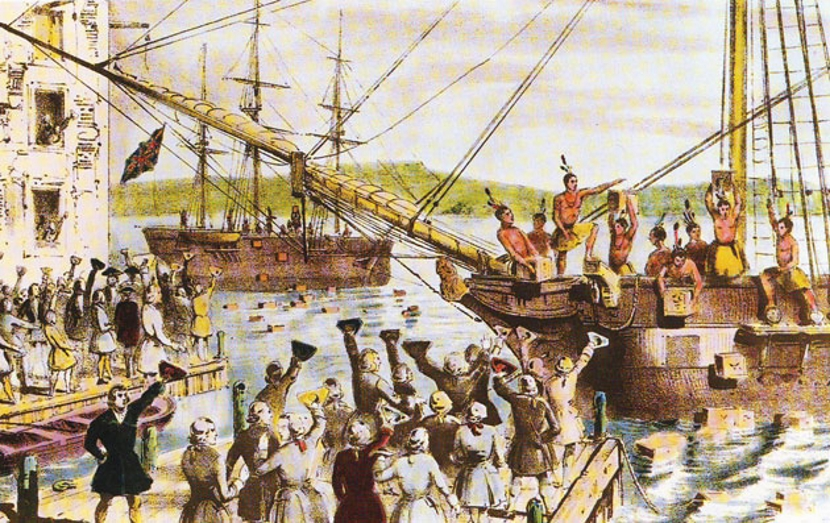 the objectives and impact of the 1773 tea act imposed by great britons on bostonians
