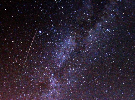 Жители Москвы смогут наблюдать звездопад Урсиды в ночь на 22 декабря