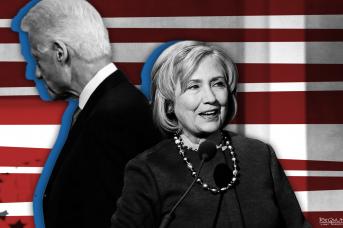 Клинтоны приходят и уходят