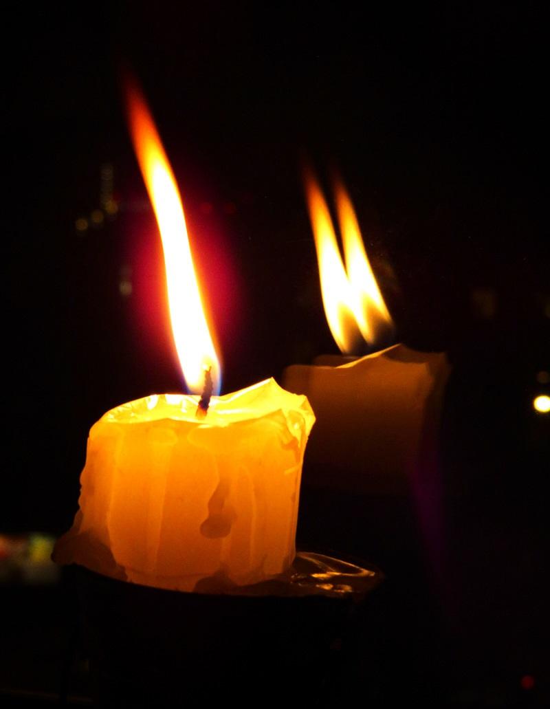 Картинка свеча траурная