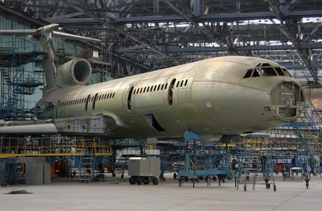 Грант на реализацию проекта по модернизации самолета Ту-154