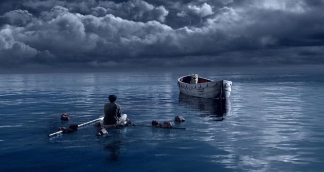 Вокруг безбрежная водная гладь, а впереди — неизвестность…