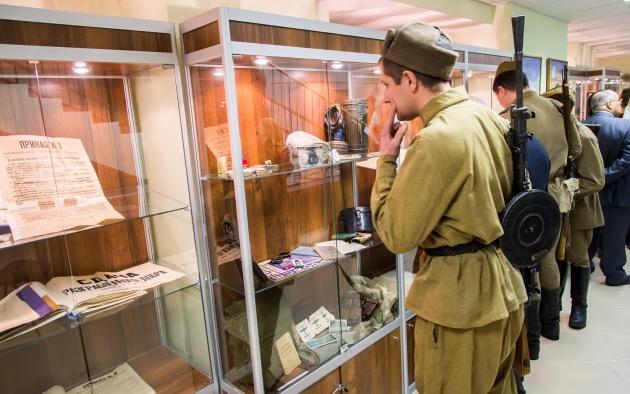 В Калуге открыли выставку к 75-летию освобождения от фашистской оккупации