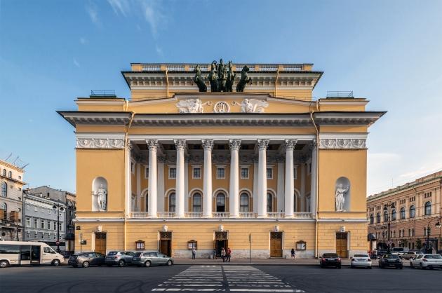 Фасад Александринского театра