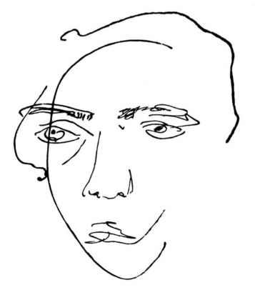 Велимир Хлебников. Автопортрет