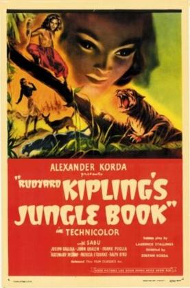 Постер фильма «Книга Джунглей»