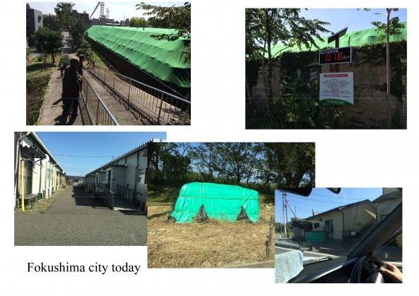 Рис. 18. Фотографии города Фукусима (октябрь 2016 г.)