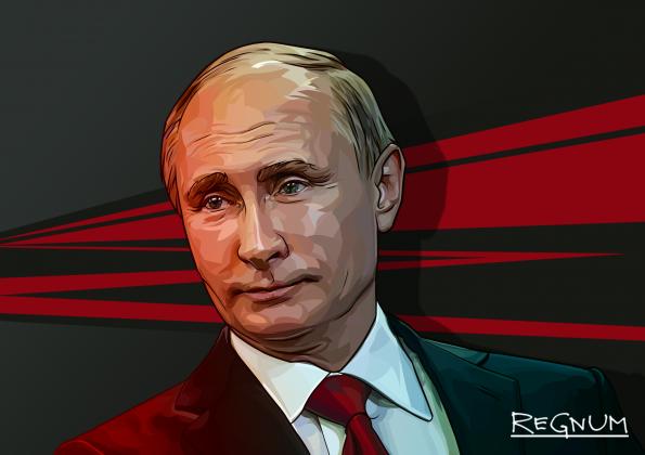 ИА REGNUM для Белоруссии: Новогоднее обращение Владимира Путина к России