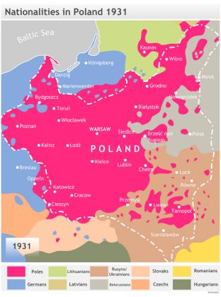Национальный состав Польши
