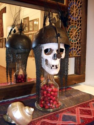 Инсталляция Сергея Параджанова в музее в Армении