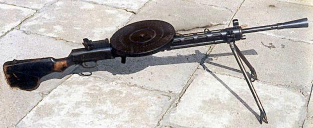 Ручной пулемёт Дегтярева ДП обр. 1927