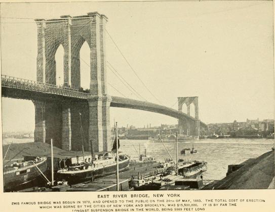 Генри Нортроп. Бруклинский мост.1909