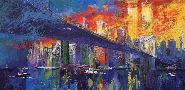 Лерой Нейман . Бруклинский мост. 1977