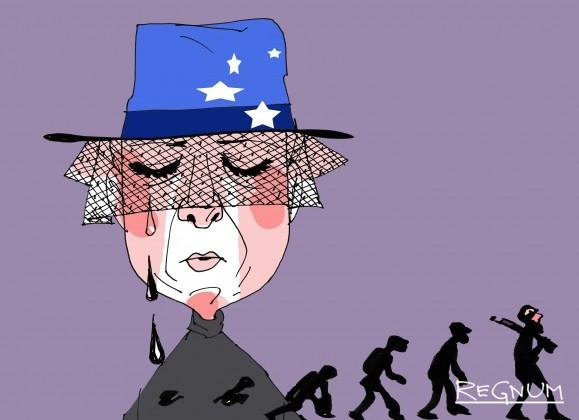 Рождение варваров из слёз Запада о правах человека