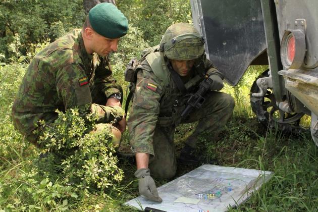 40% призывников Литвы игнорируют повестки