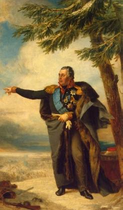 Джордж Доу. Портрет генерал-фельдмаршала М. И. Кутузова Светлейшего князя Смоленского (1745—1813). 1829