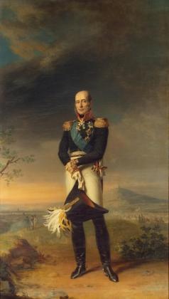 Джордж Доу. Портрет генерала-фельдмаршала князя Михаила Богдановича Барклая-де-Толли (1761—1818). 1829