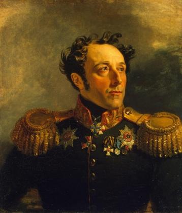 Джордж Доу. Генерал от инфантерии Борис Яковлевич Княжнин 2-й (1777—1854). 1823-25