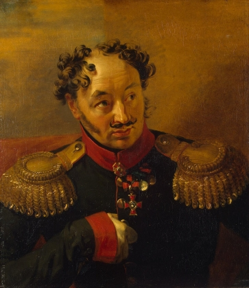 Джордж Доу. Генерал-майор Александр Николаевич Рылеев (1778—1840). 1823-25