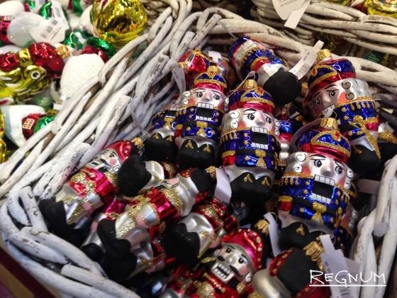 Елочные игрушки «Щелкунчик»