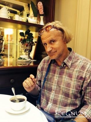 Актер театра и кино Евгений Воскресенский во время интервью корреспонденту ИА REGNUM