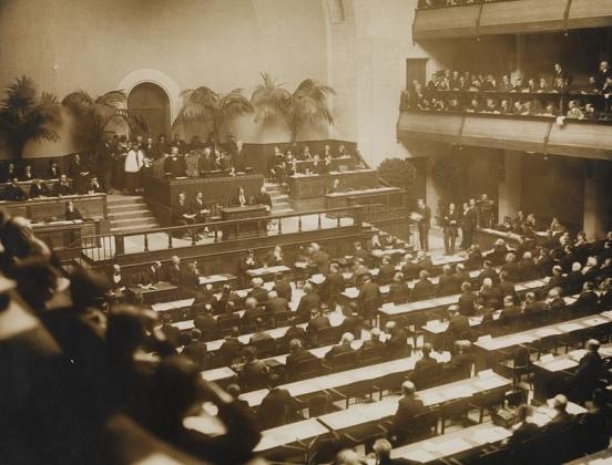 Официальное открытие Лиги Наций. 15 ноября 1920