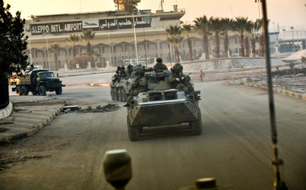 Вооруженные Силы России в освобожденном Алеппо