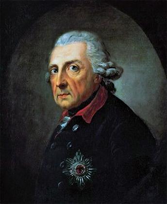 Фридрих II Великий. 1781