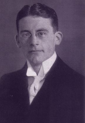 Немецкий юрист и политический философ Карл Шмитт