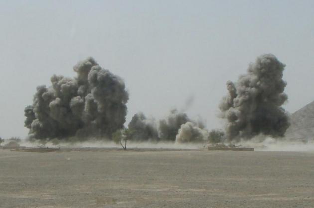 Афганистан. Взрывы
