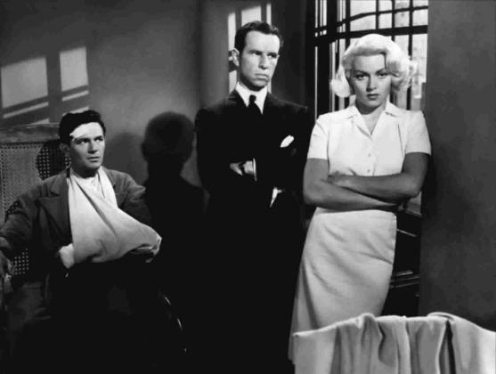 Почтальон всегда звонит дважды 1946 реж. Тэй Гарнетт Комнаты-ловушки и косые тени нуара